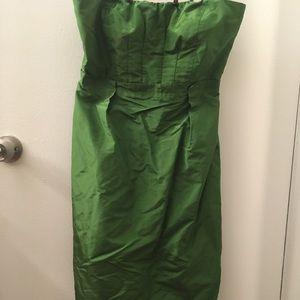 J crew tube dress